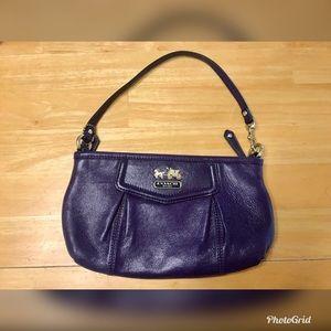 Coach Purple Aubergine Purse/Wristlet